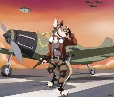 Aviator Extraordinaire by Retehi