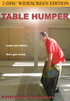 """DVD Cover """"Table Humper"""" by Allen-Blade"""