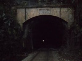 Oldest Active Train Tunnel in America by AirTyler