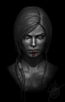 Face by AndromedaCollision