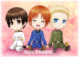 Hetalia: Axis Powers [+ Speedpaint video] by Yuunarii