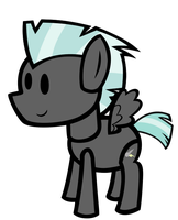 Thunderlane The Paper Pony by MLP-Scribbles