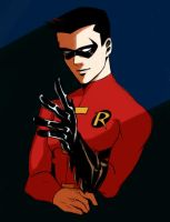 Young Justice Tim by vitnaa