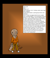 HH Characters - Sam by HH-HorrorHigh