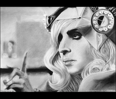 TELEPHONE - Lady Gaga by unfinishedtears