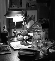 A lamp, a bottle and more by altergromit