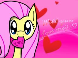 For Fluttershy Lover by dilz9015