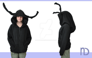 Heartless Hoodie by NymphadoraDesigns