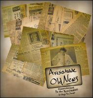 Arrsistable Old News Pack by ArrsistableStock