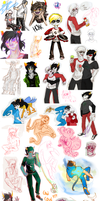 Homestuck dump by InsaneRedRipper
