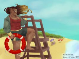 lifeguard Illaoi by Kamaloba