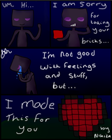 enderman comic by Chat-le-rose
