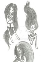 MArceline sketchs i remember you by Xcoqui