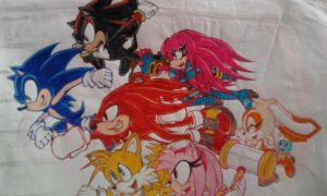 Sonic's Team_Unfinished_2008 by Sky-The-Echidna