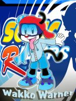 Wakko Warner in Sonic Riders by SonicandShadowfan15