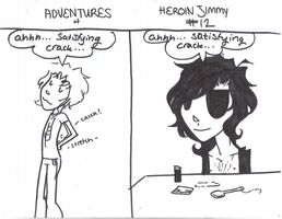 Adventures of Heroin Jimmy 12 by electricsorbet
