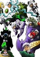 Danny Phantom Top 10 episodes by BrenoRanyere