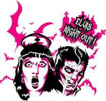 Elvis night out t-shirt by tuton21