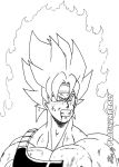 Bardock by PLATINUMBROLY
