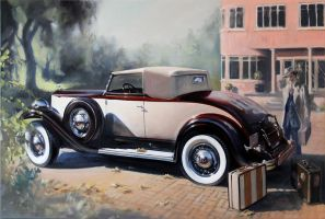 1932 Packard by donpackwood