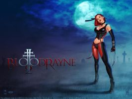 Bloodrayne 2 On cemetery by redfill