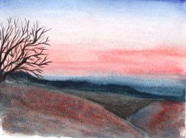 Enchanted Sunset by siobhanleigh