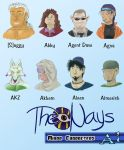 The Nays Minor Characters - A1 by NimbusStev