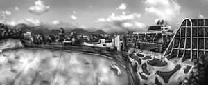 Scenery study by F1rst-Pers0n