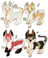 Sushi Dragon Doggies - Offer to Adopt - CLOSED by Railguns