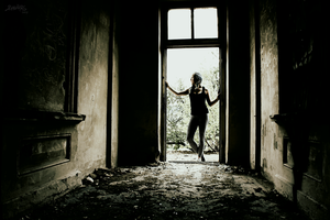 Like a ballerina in an abandoned house by Vanilla-Shadowgame