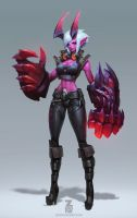 DEMON Vi Concept Art by Zeronis