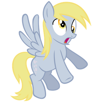 Derpy Hooves Vector by MisterLolrus