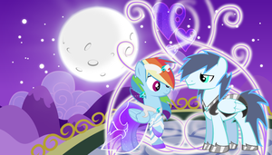 RainBow Dash and Soarin by xLovelyDeathx