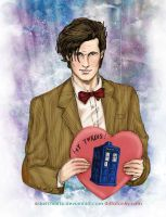 The Eleventh Doctor by sketchditto