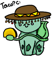 Taco Bulbasaur by KKMeko
