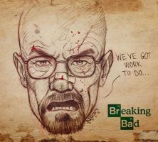 Walter White aka Heisenberg by No37LEoN