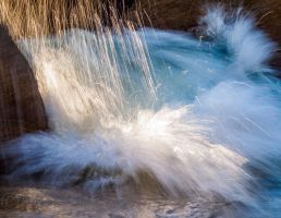 Sand Harbor lake Tahoe Splash by MartinGollery
