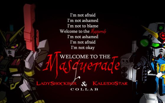 Welcome to the Masquerade COLLAB - AMV Poster by Shockbox