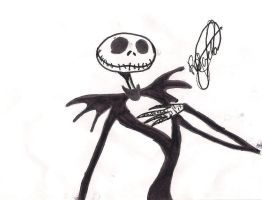 Jack Skellington by DemigodWizardGleek