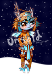 Fire and Ice .:Collab Adopt:. [OPEN] by IvyDevi