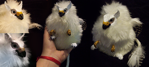 Baby Gryphon Doll by Isvoc