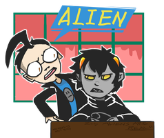 Karkat the Alien by zullyvantas