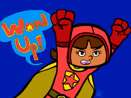 Day 7 - Wordgirl by uhnevermind