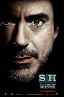 Sherlock Holmes: Game of Shadows. HP7 style poster by AndrewSS7