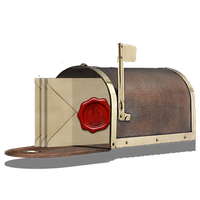 Steampunk Inbox Email Icon by pendragon1966