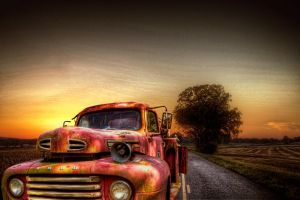 Sandford's Firetruck HDR by joelht74