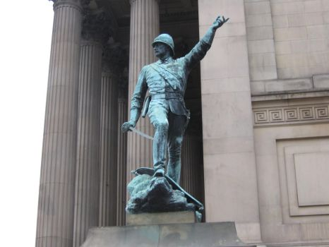 Statue of William Earle by emeraldcrusade