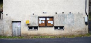 Wall of the Marie, Cronce, France by sags