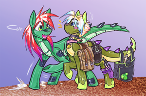 Can I Offer a Helping Hoof? by carnival