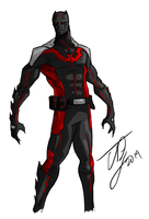 Batman Beyond Redesign by TheoDJ
